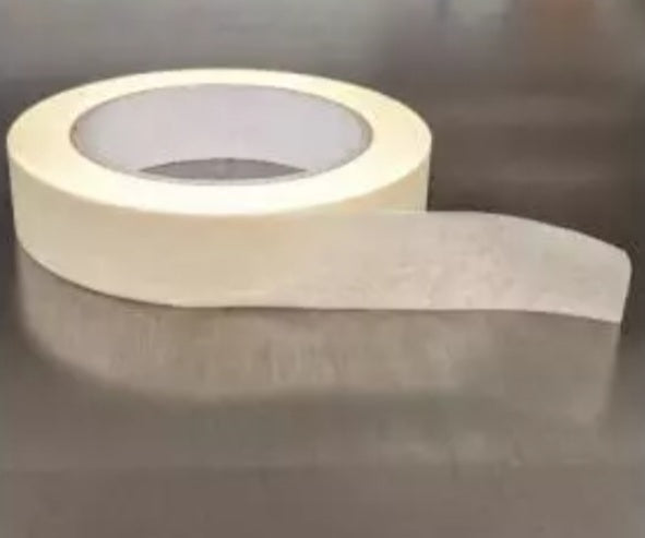 White Biodegradable Paper Tape - 24mm x 50m