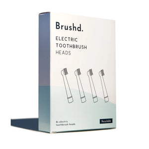 Brushd. Recyclable electric toothbrush heads oral b