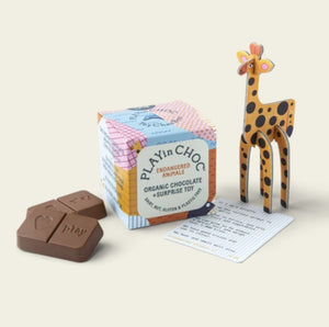 PLAYin CHOC Endangered Animals ToyChoc Box