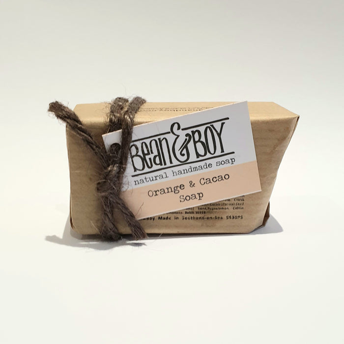 Mini Orange & Cacao Soap - Bean & Boy - 40g