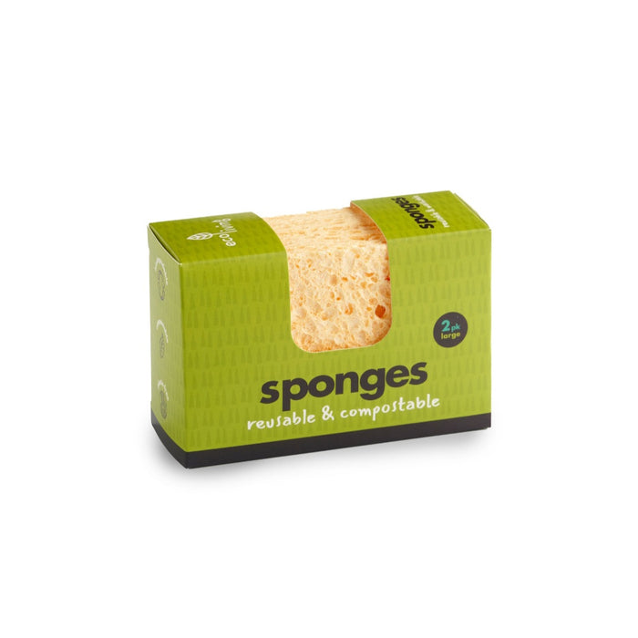 Compostable Sponges Large x2