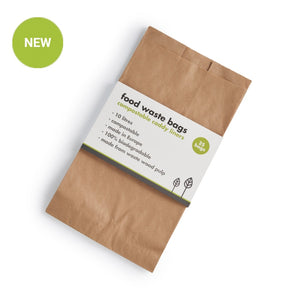 Ecoliving compoatable food waste paper bags