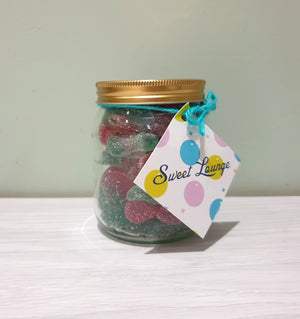 Sweet lounge fizzy vegan twin cherry gummies 300g