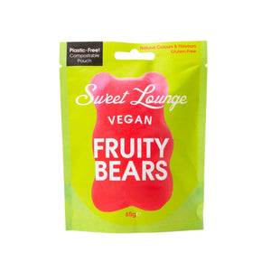 Sweet Lounge Vegan Fruity Bears 65g