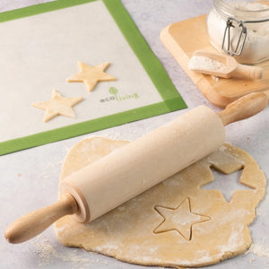 Ecoliving wooden rolling pin