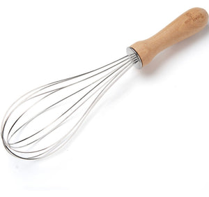 Ecoliving whisk with wooden handle