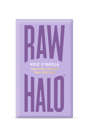 Raw Halo Organic Vegan Chocolate Mylk & Vanilla 22g