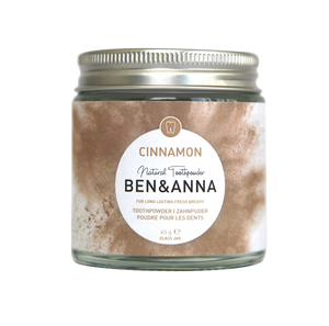 Natural Toothpowder Cinnamon Ben & Anna