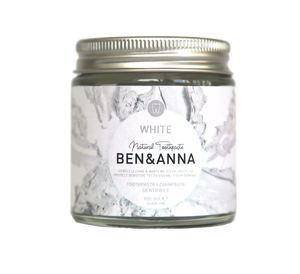 Natural Toothpaste White Ben & Anna