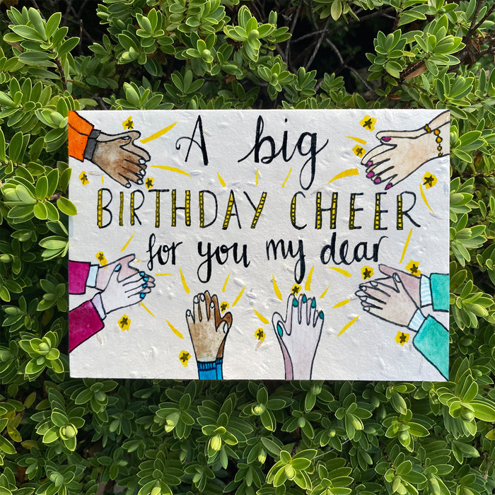 Loop Loop Birthday Cheer Plantable Card