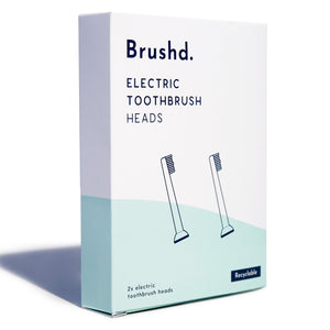 electric toothbrush heads recyclable brushd.