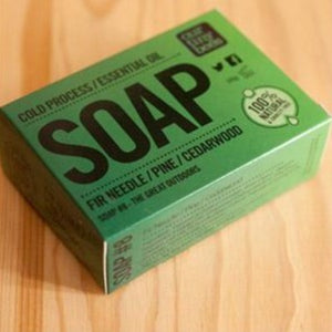 Cedarwood Natural Antiviral Soap Our Tiny Bees