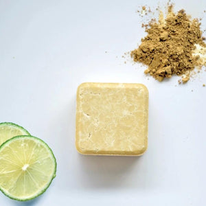 dry and curly hair 2in1 shampoo bar natural zero waste path