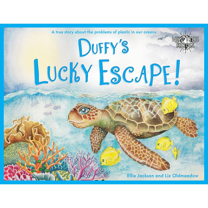 Duffy's Lucky Escape Children's Book - Wild Tribe Heroes