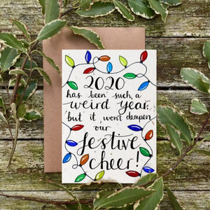 Loop Loop Festive Cheer plantable christmas card