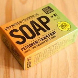 Natural Antiviral Grapefruit Soap - Our Tiny Bees