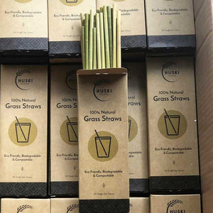 Natural Grass Straws Huski Home
