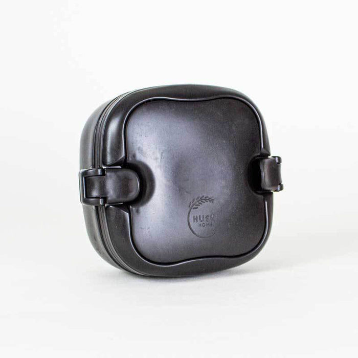Rice Husk Lunch Box - Obsidian - Huski Home