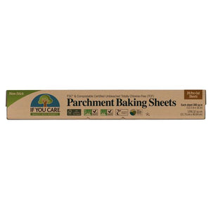 If you care parchment baking sheets