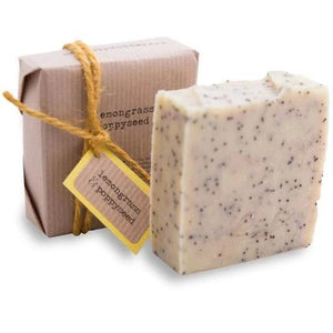 Lemongrass & Poppyseed Natural Soap Bean & Boy