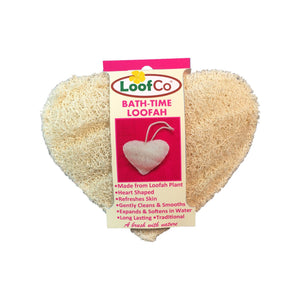 Bath Time Hearth Shaped Loofah Loofco
