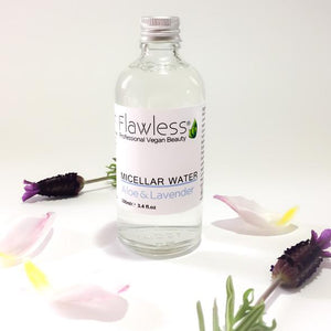 Micellar Water 100ml Flawless rose lavender