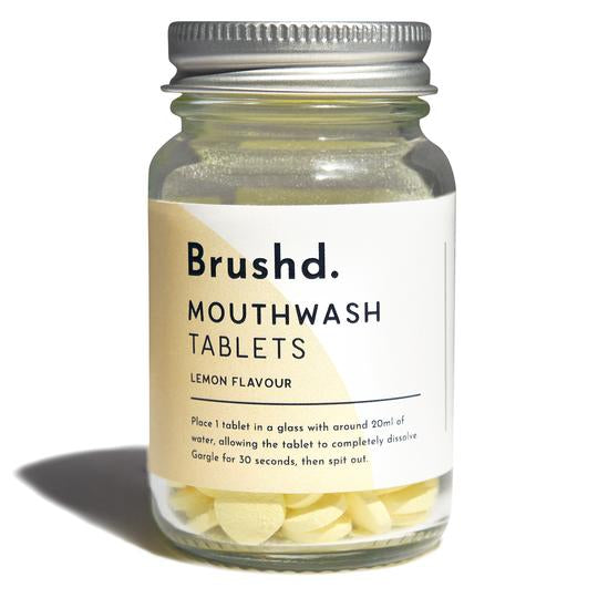 Mouthwash Tablets - Lemon - Brushd.