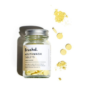 Mouthwash Tablets Lemon Brushd.
