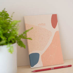 Vent for change recycled pink pencils coral notes