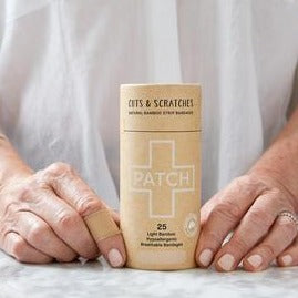 PATCH natural plastic free plasters