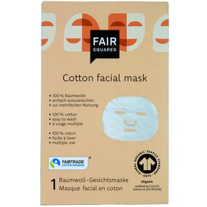 Reusable Cotton Facial Mask Fair Squared