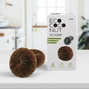 Twin Pack Scourers EcoCoconut