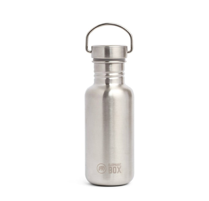 Single Wall Water Bottle - 500ml  - Elephant Box