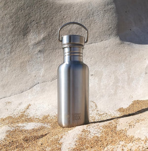 Stainless Steel Water Bottle 500ml Elephant Box