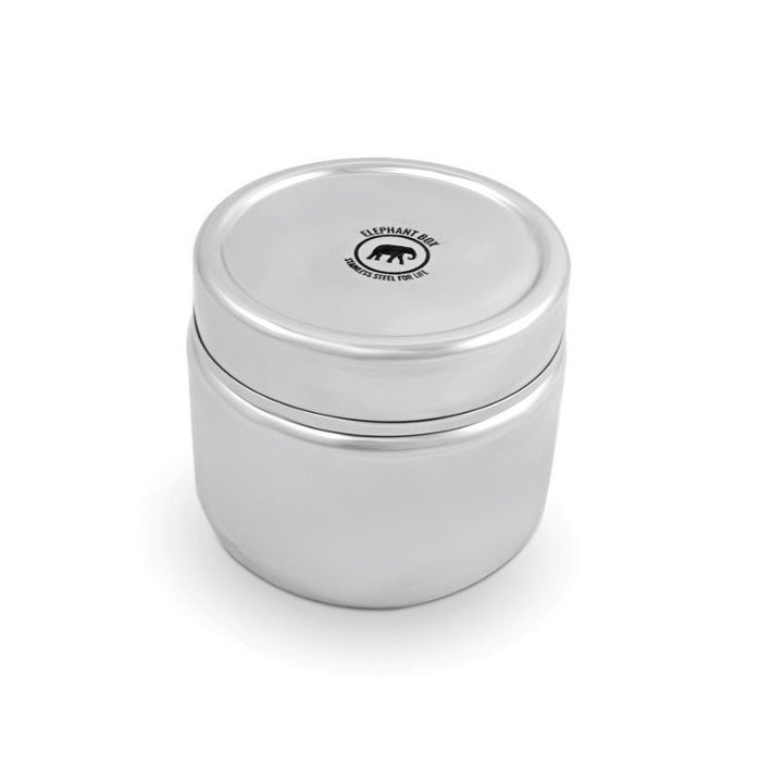Round Leak Proof & Airtight Canister - Elephant Box