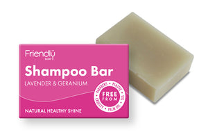 Shampoo Bar Lavender & Geranium Friendly Soap