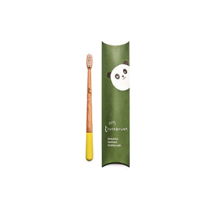 Yellow Tiny Children's Bamboo Toothbrush - Truthbrush