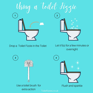 Toilet Fizzies Toilet Cleaning Bombs