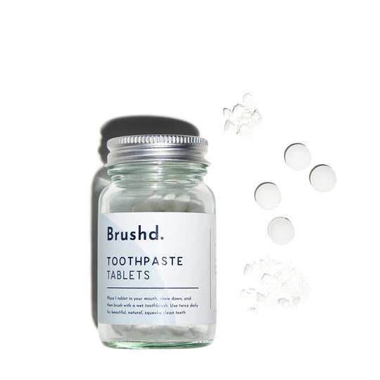 Toothpaste Tablets (With Fluoride) - Brushd.