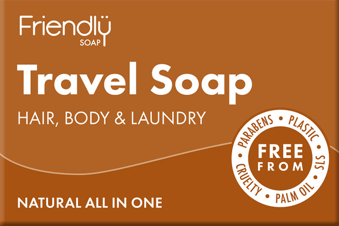 Travel All In One Natural Soap - Friendly Soap - 95g