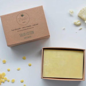 Solid Lotion Bar Unscented Zero Waste Path