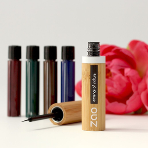 Organic Refillable Liquid Eyeliner Makeup Zao Vegan