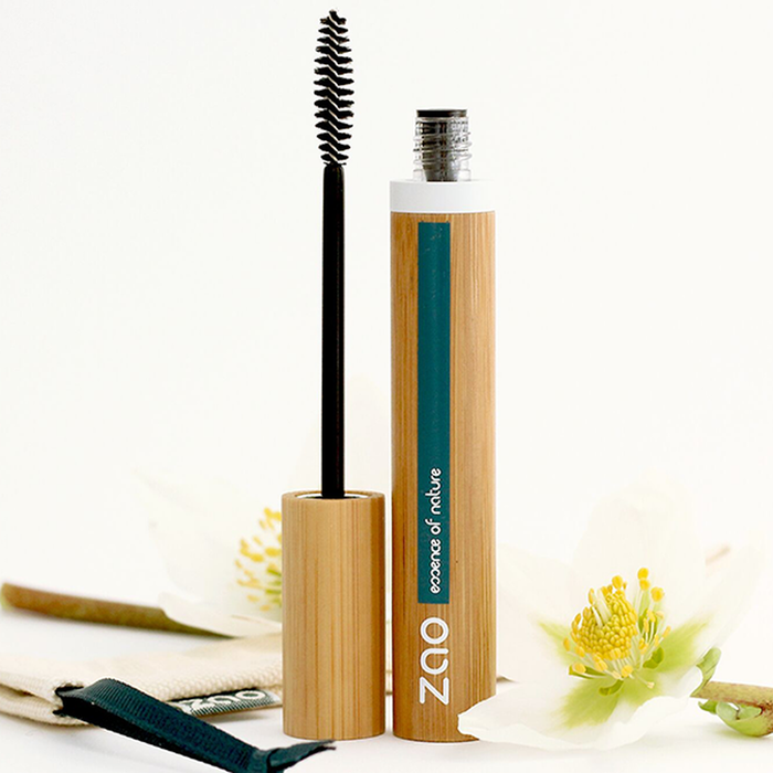 Volume & Sheathing Refillable Mascara - Zao Makeup - 085 Black
