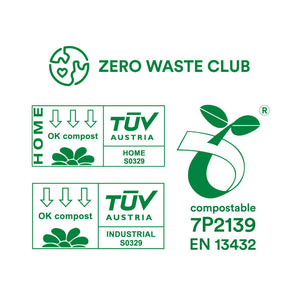 zero waste club Compostable Food Waste Bags x 100