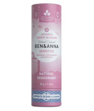 Cherry Blossom Sensitive Natural Deodorant Ben & Anna