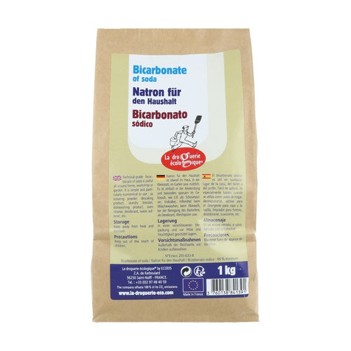 Bicarbonate of Soda 1kg - La Droguerie Eco