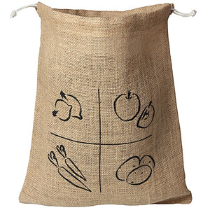 Jute Burlap Bag Medium AH! Table!