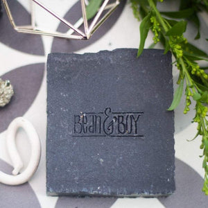 bean & boy activated charcoal natural soap