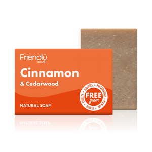 Cinnamon & Cedarwood friendly soap