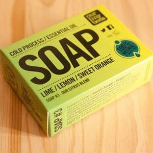 Natural Antiviral Citrus Soap - Our Tiny Bees